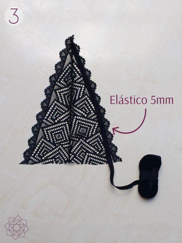 DIY: Bralette de encaje fácil de hacer   Nocturno…
