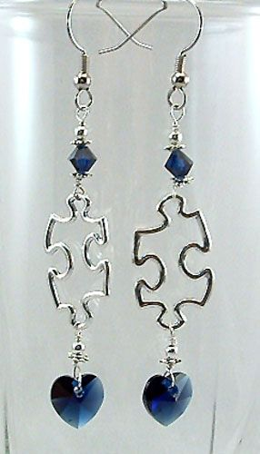 Autism Awareness Puzzle Jewelry