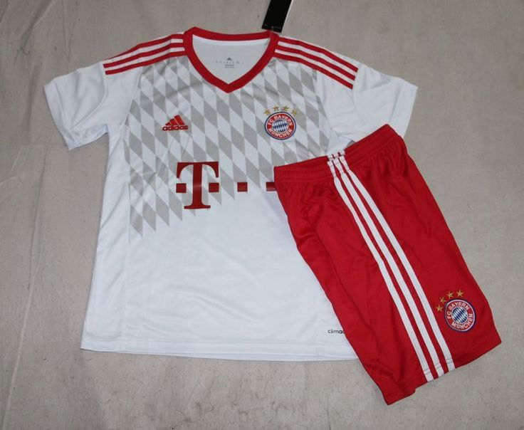 Bayern Munich Jersey 2015/16 Jersey Youth Away Soccer Shirt Kids Football Kits for $16 on Soccer777.net