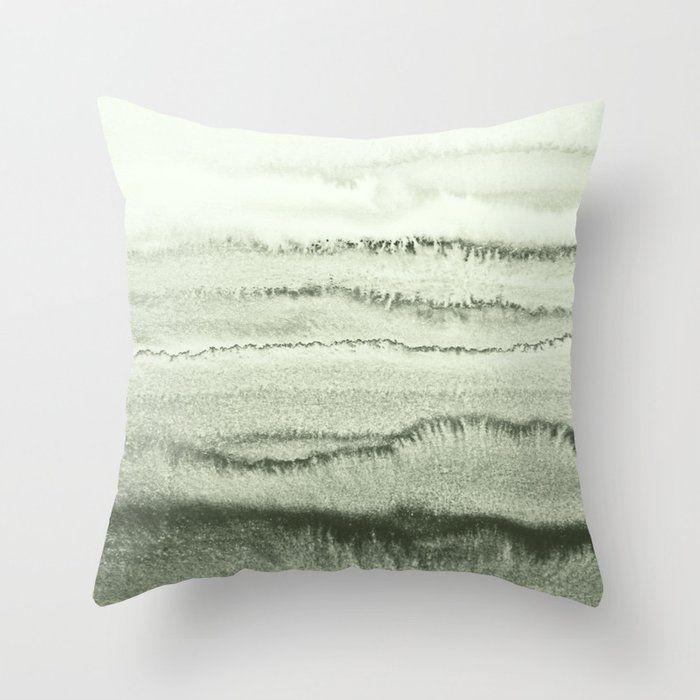 sage throw pillows