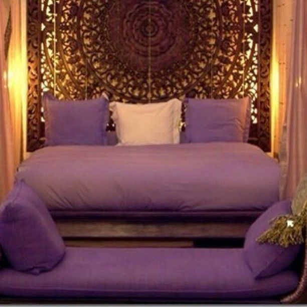 Purple And Gold Bedroom Decor