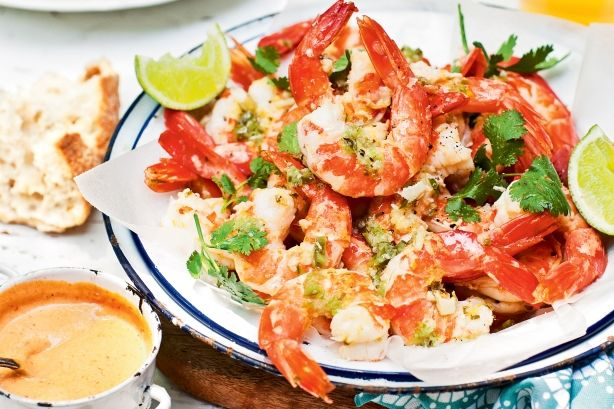 """Katie Quinn Davies shows us why """"juicy, plump Aussie prawns are a must at any summer event""""."""