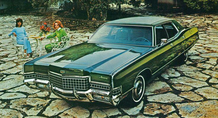 1972 Mercury Marquis Brougham 4 Door Pillard Hardtop