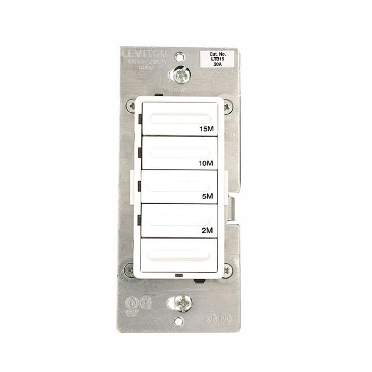 how to connect leviton bathroom fan switch