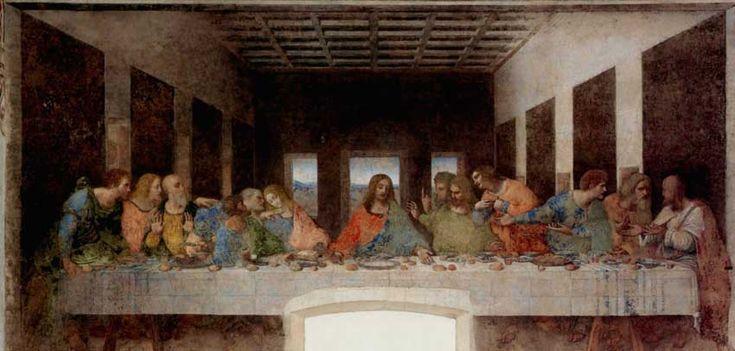 """""""L'ultima cena"""" di Leonardo Da Vinci: rivelato un dettaglio sfuggito a tutti per secoli – La Setta dei Poeti Estinti"""