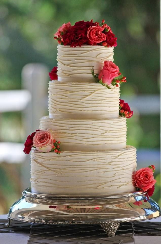 Suggested by iCandy Cakes by Tiffiny | Simply elegant wedding cake