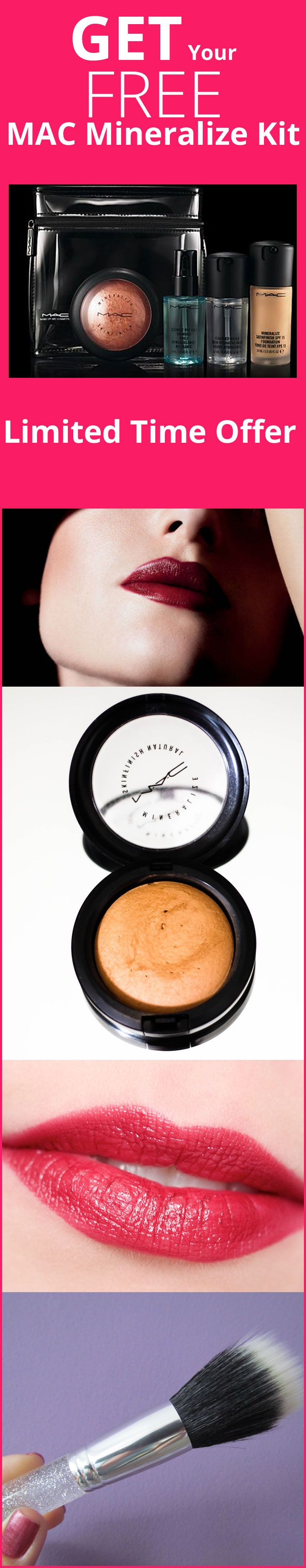 If you are looking for high quality mineral makeup, MAC Mineralize Makeup kit has probably no better alternative. But the best news is: You can GET your MAC Mineralize Kit absolutely FREE.