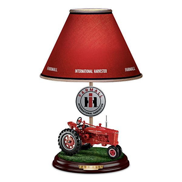 International Harvester Table Lamp : Best farmall images on pinterest tractors