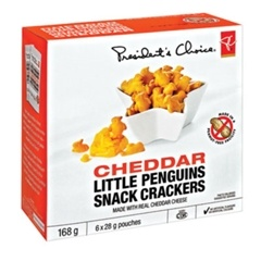 PC Cheddar Penguin Crackers