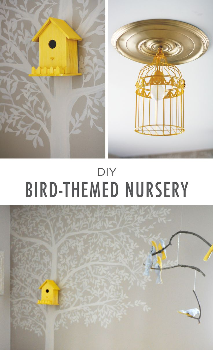 Bring a touch of whimsical fun to your little one's space, with this DIY bird-themed nursery from blogger Oh Que FoFo. Using Pecan Sandie, this gender-neutral design is perfect for keeping your color palette neutral.