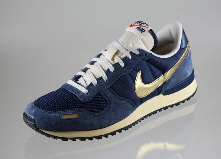 Nike Air Vortex Vintage V-Series (midnight navy / metallic gold)