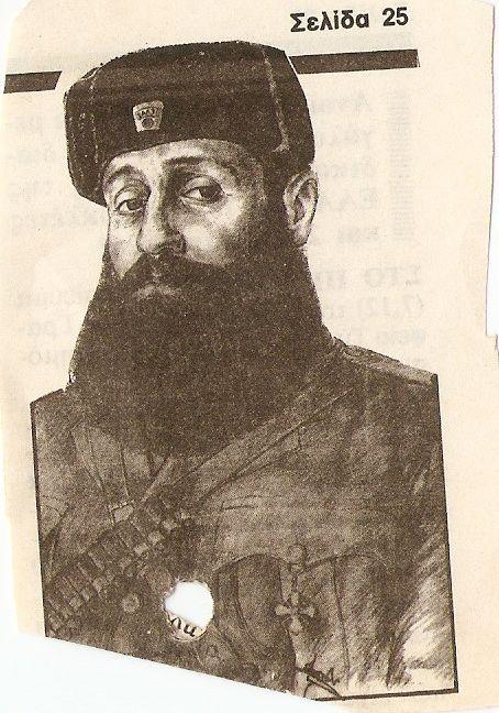 Εφιππος Μαυροσκουφης  Φρουρα Λοχου Στρατηγειου ΕΛΑΣ  1944