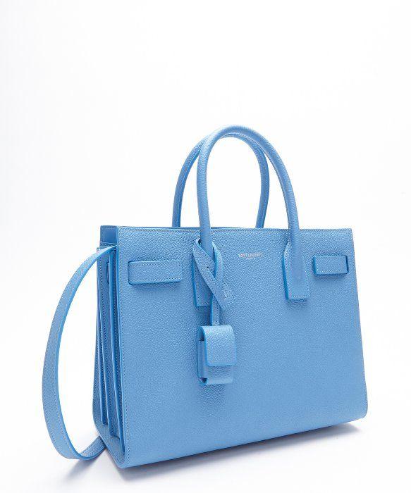Baby Saint Laurent Sac de Jour Blue ($2,700)