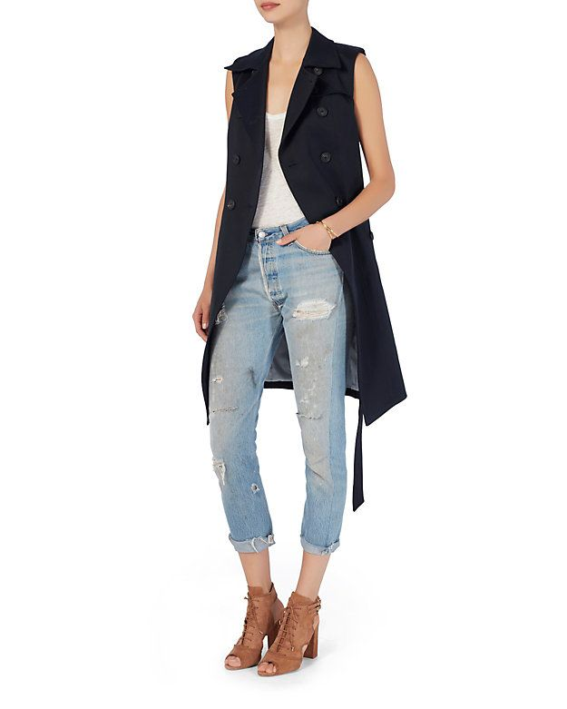 Veronica Beard SoCal Trench Vest