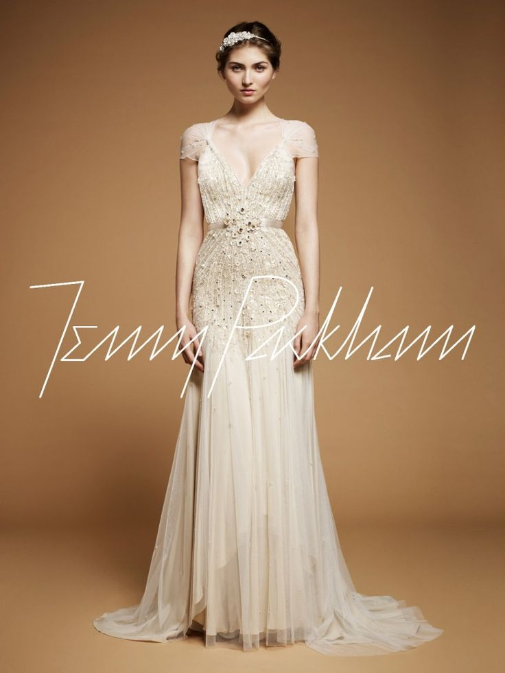 """Jenny Packham """"Willow"""" Gown"""