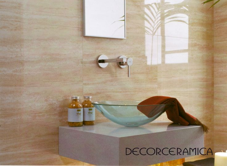 Ambiente TRAVERTINO de DECORELA PORCELANATO