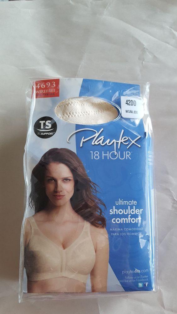 95f8498a1c Playtex 18 Hour Original Comfort Strap Bra - 4693  fashion  clothing  shoes
