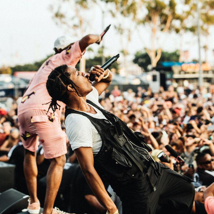 Asap Rocky x Tyler The Creator Photo by @TashaBleu on IG