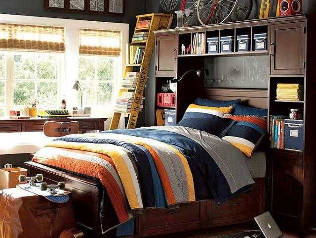 Комнаты для подростков мальчиков от PB Teen ~ Sweet home