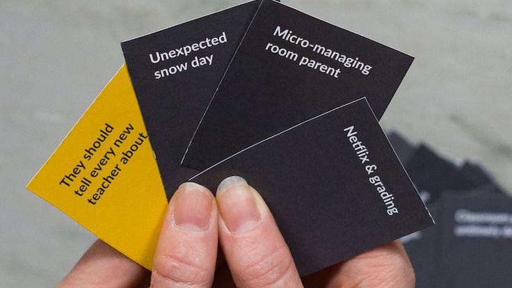 Teacher Life Card Game - Like Cards Against Humanity for Teachers