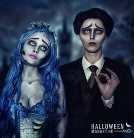 #couple #makeup #costume #halloweenmarket #halloween  #идеи #костюм #образ #пара Костюм для пары на хэллоуин (фото)