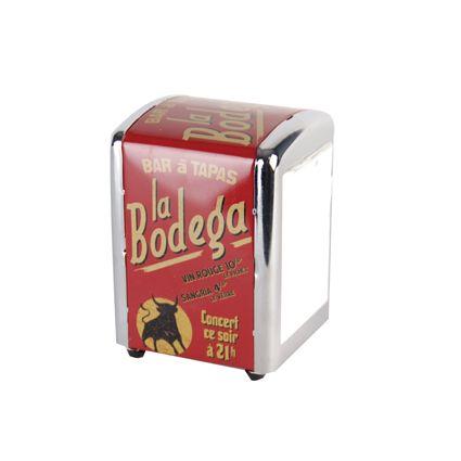 Distributeur de serviettes Bodéga