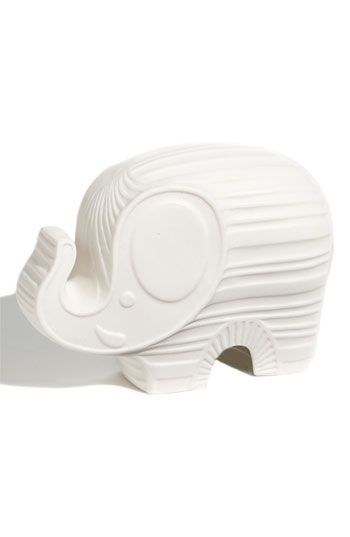 Every girl needs a good luck elephant- especially if its a night light!! Love the White Jonathan ...