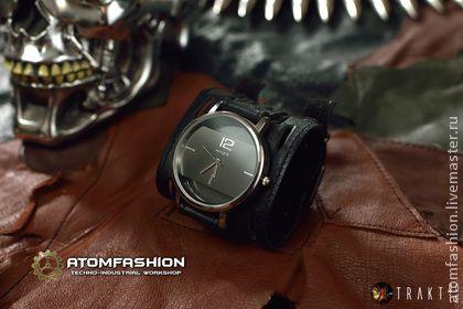 """Часы женские """"Кватрангос"""" черные - часы,часы женские,часы наручные,часы наручные купить"""