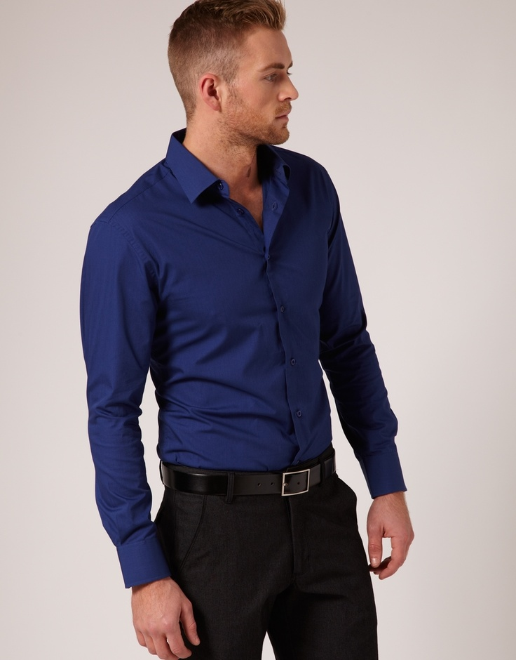 Hallensteins - Hallensteins Plain Business Shirt ($39.99)