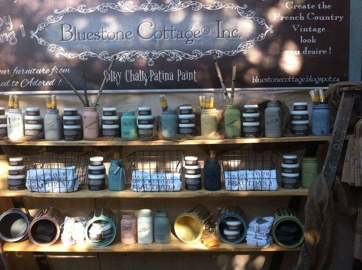 Paints, t-shirts, brushes and mason jars galore!