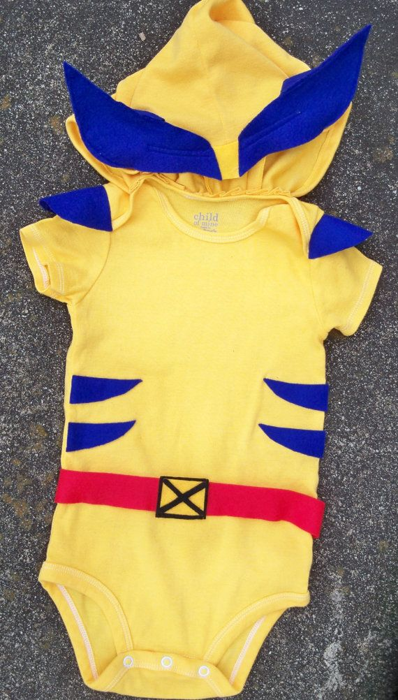 Hey, I found this really awesome Etsy listing at https://www.etsy.com/listing/224173369/baby-wolverine-costume-x-men-comics