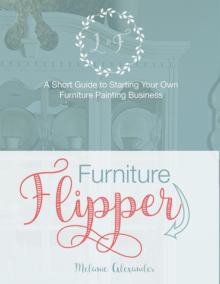 Want to Learn How to Flip Furniture For Profit ? Easy to read, basic guide to starting your own business painting or refinishing furniture.  Topics include basic business setup, where to find great pieces, how to price to sell, essential tools (and things