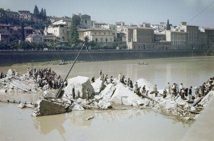 ponte santa trinita guerra -