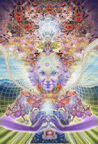 Alex Grey don't look at this one after drinking!!!