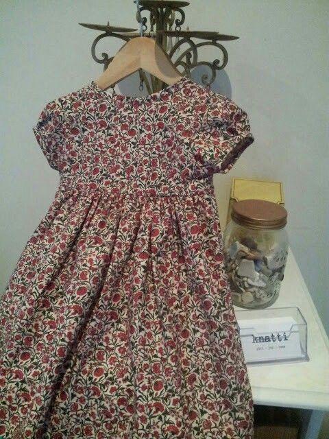 Sweet little tea dress for a client.