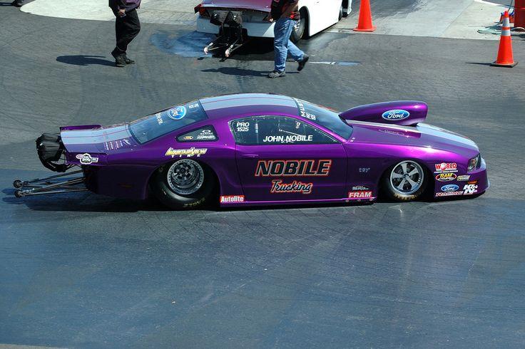 NHRA1614NC PRO STOCK Drag racing, Race cars, Mustang