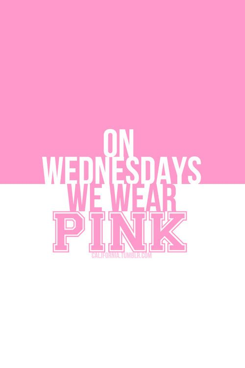 Found on pink-and-only-pink tumblr comOn Wednesdays We Wear Pink Tumblr Transparent