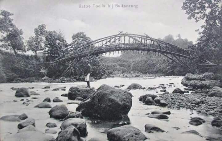 Batu Tulis, Bogor 1910