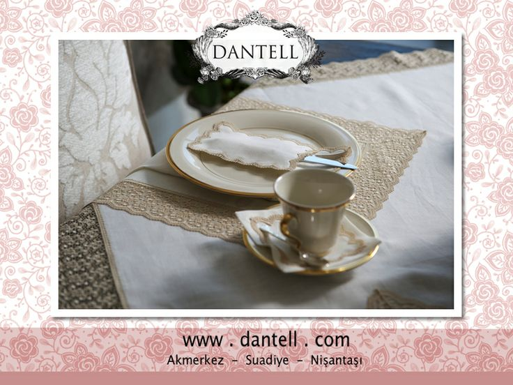 @dantellbrand for extraordinary table settings... www.dantell.com #dantell #dantellbrand #hometextile #home #decoration #interiordesign #table