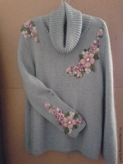 Кофты и свитера ручной работы. Ярмарка Мастеров - ручная работа Свитер. Handmade.
