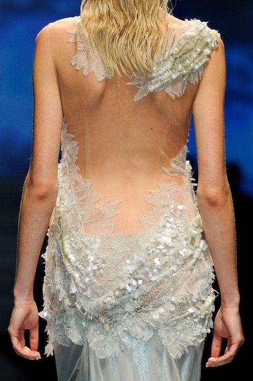 : Spring Dresses, Fashion Details, Backless Dresses, Alberta Ferretti, Dresses Fashion, Ferretti Spring, Spring Summer, Spring 2013, Mermaids Dresses