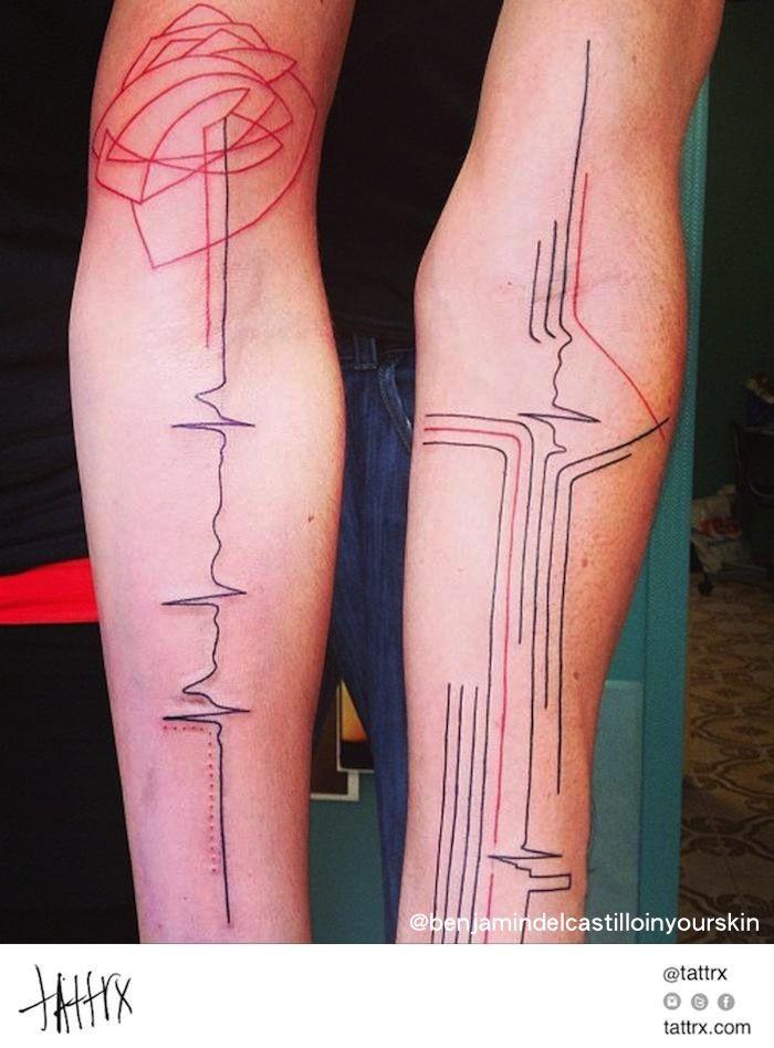 Benjamin Tattoo del Castillo - électrocardiogramme | tattrx