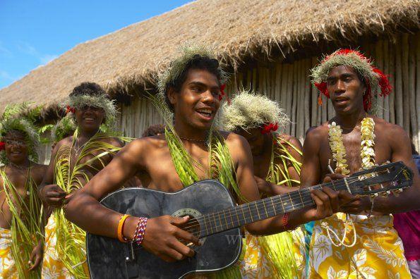Kanak people, Lifou - New Caledonia