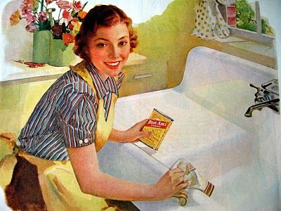 The happy sense of fulfillment when you've successfully cleaned your sink.