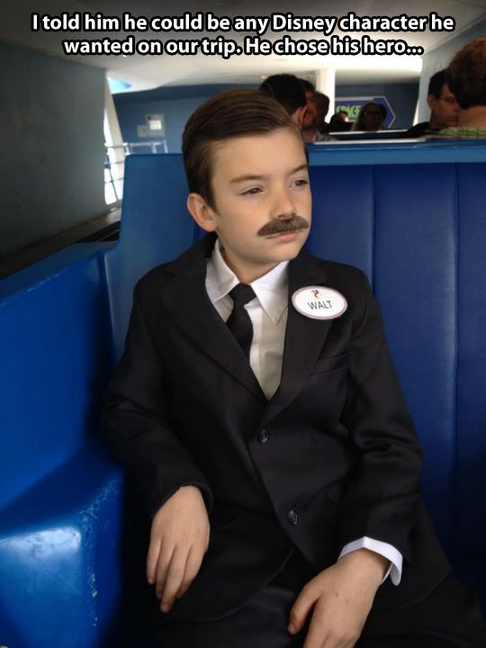 His favorite Disney character. This is adorable. I hope he got lots of bonus fast passes!