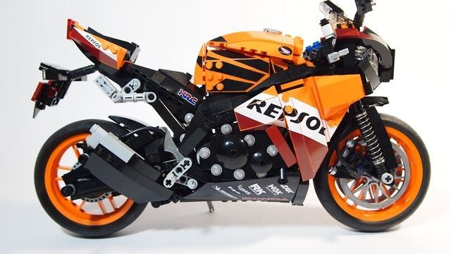 LEGO TECHNIC MOTORCYCLES: MOD's & Thoughts - The 42036 Street ...