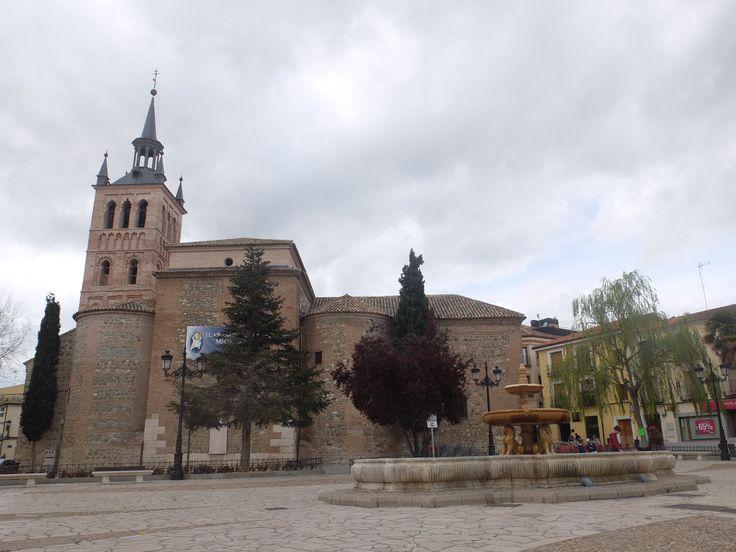La reina de la plaza mayor de Illescas.