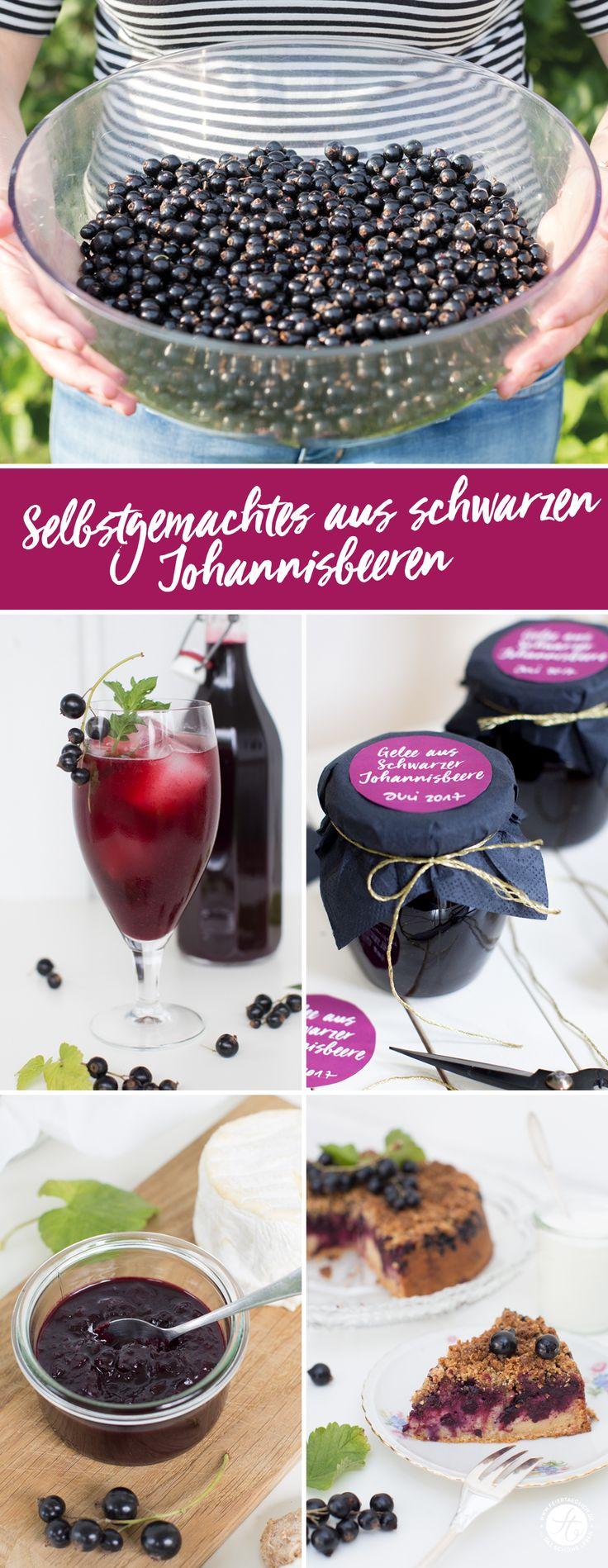 Selbstgemachtes aus schwarzen Johannisbeere: Rezepte für Johannisbeer-Ingwer-Chutney, Johannisbeersaft & Johannisbeergelee