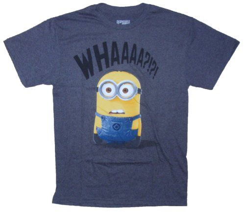 Despicable Me Minion Whaaaa?!?! Licensed Graphic T-Shirt - Small Despicable Me,http://www.amazon.com/dp/B00DXG9MXE/ref=cm_sw_r_pi_dp_LV4bsb0QC4PTECXB