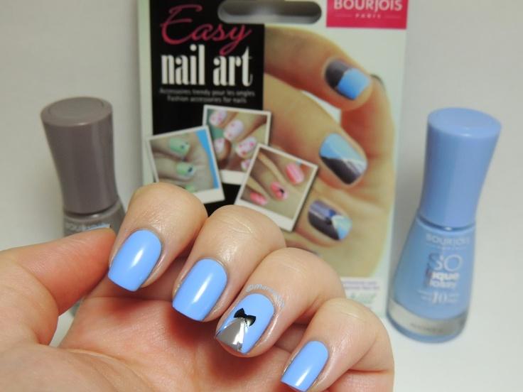 Bourjois - Adora Bleu + Bourjois - Taupe Modèle + Bourjois - Easy Nail Art Kit
